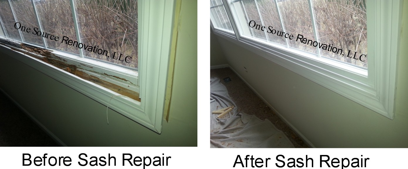 ROW Rotted Window Repair